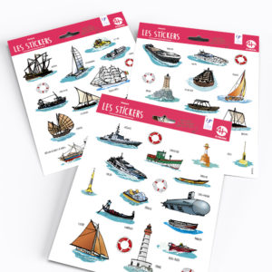 Stickers – Collection Mer